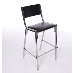 Rental store for Stool With Back  Black Chrome in Omaha NE
