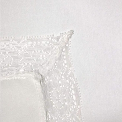 Rental store for Napkin Ivory W  Lace Border in Omaha NE