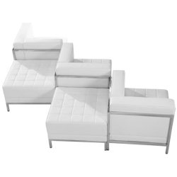 Rental store for Lounge Chairs White Leather in Omaha NE